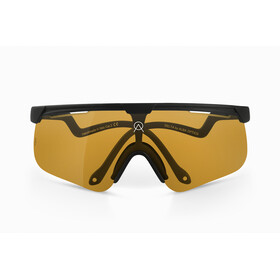 ALBA Optics Delta Mr Gold Glasses black